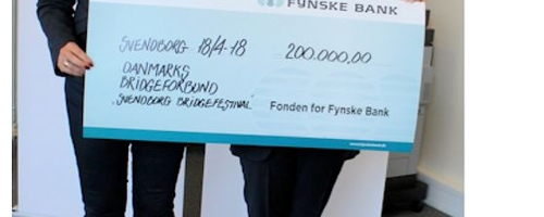 Donation fra Fonden for Fynske Bank officielt overrakt